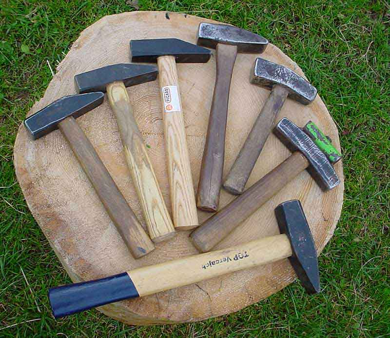 Peening with the hammer and anvil | ScytheConnection